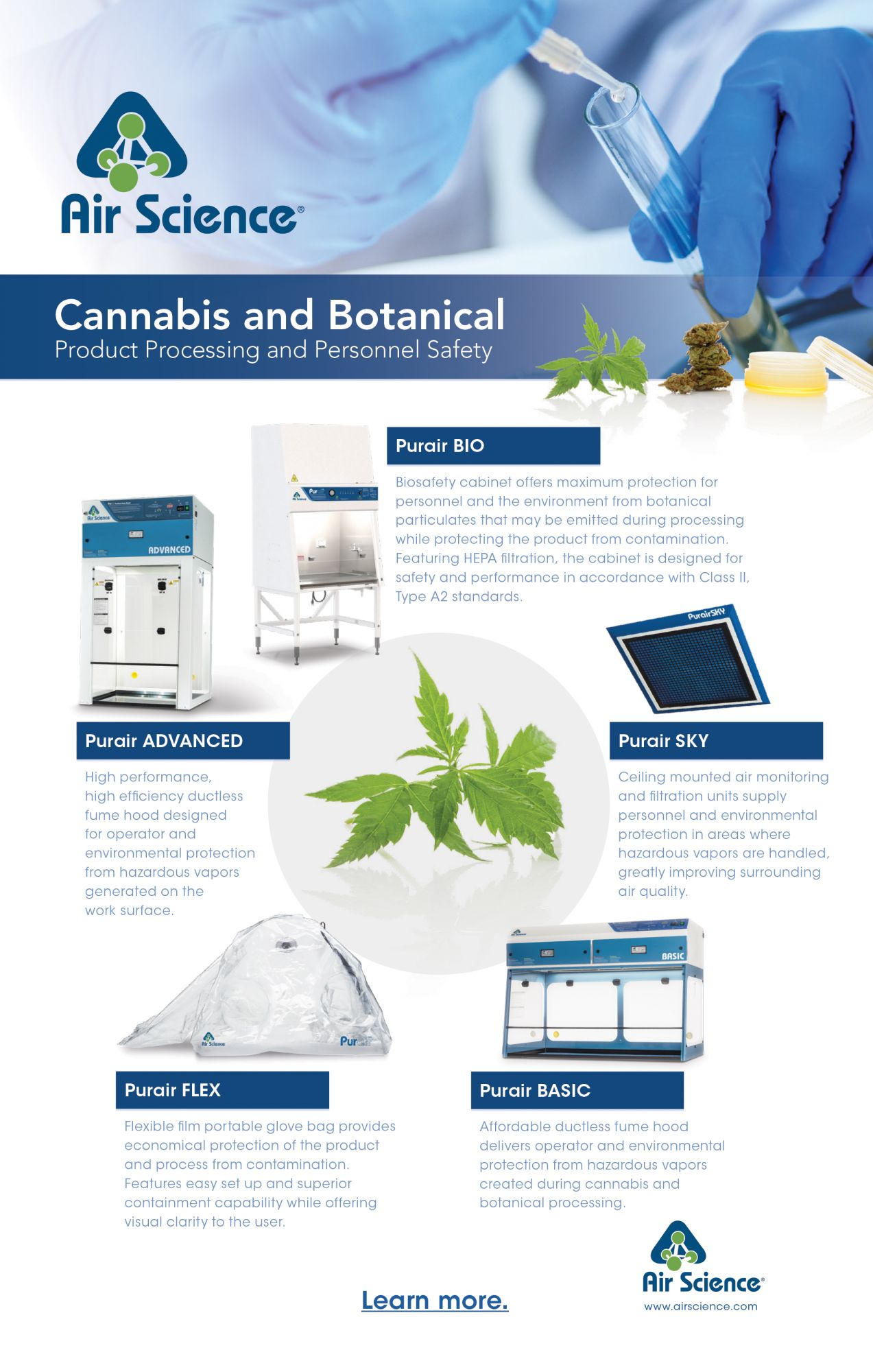 Cannabis Products by Air Science