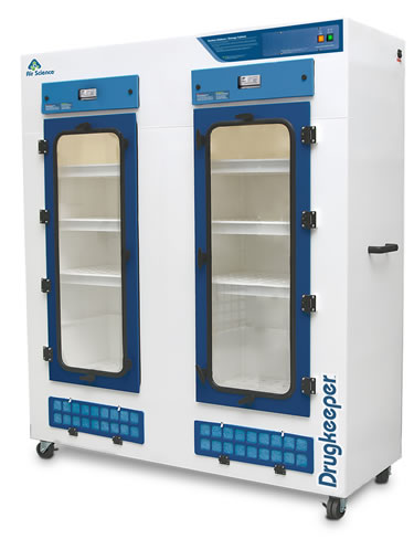 Drugkeeper filtered drying cabinet