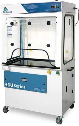 EDU filtering ductless fumehood