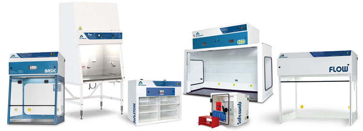 Air Science Products - Fume Hoods - BSC - Storage Cabinets - Laminar Flow Hoods - Forensic Equipment