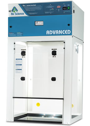 Advanced ductless fume hood