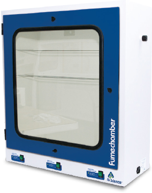 Fume Chamber for cyanoacrylate fingerprint development