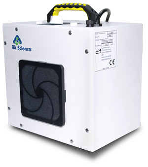 Fume Extractor for cyanoacrylate fingerprint development