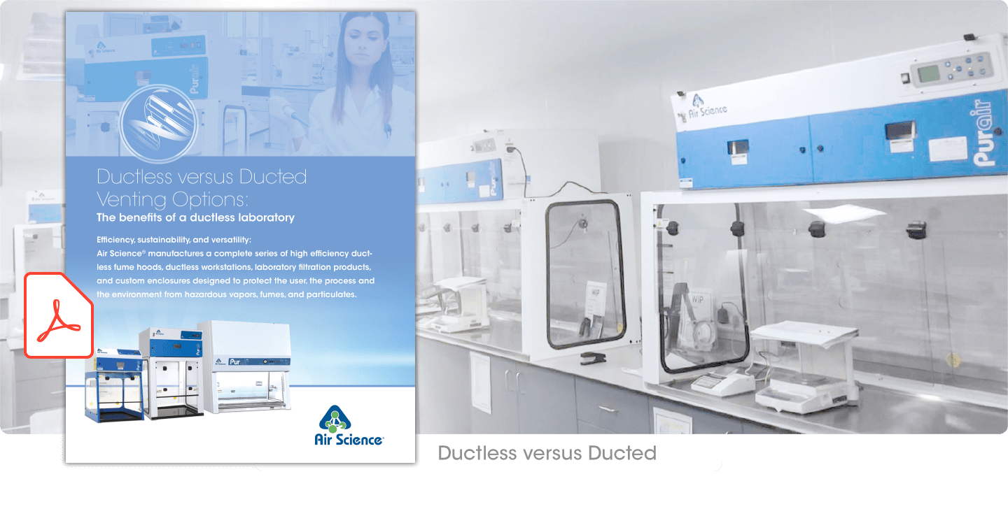 Ductless Fume Hoods, Laminar Flow, Forensic, BSC