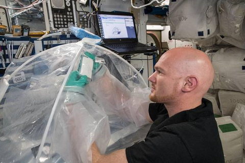 Air Science Isolator Gloves Used by NASA
