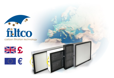 Filtco Filters for Ductless Fume Hoods