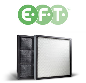 EFT carbon filters for ductless fume hoods