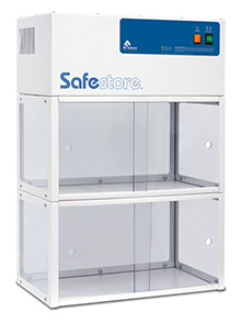 Safetore mini double storage cabinet