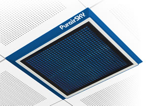 Purair SKY ceiling mounted fan filter units