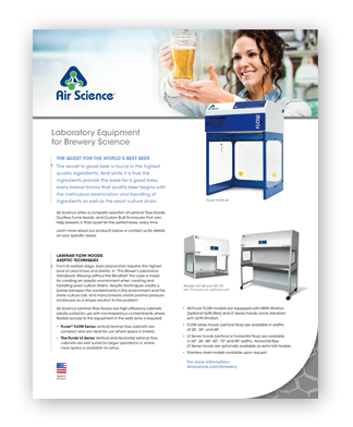 Air Science craft brewing equipment pdf download
