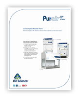 Purair FLOW Series Consumables Reorder Form