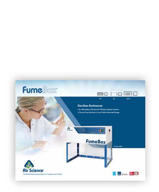 Fume Box vented enclosure brochure
