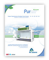 Purair ECO Ductless Fume Cupboards brochure