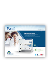 Purair PCR laminar fume hood pdf download