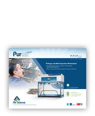 Purair SafeSEARCH ductless fume hood brochure