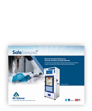 Safekeeper Forensic Evidence Drying Cabinets brochure